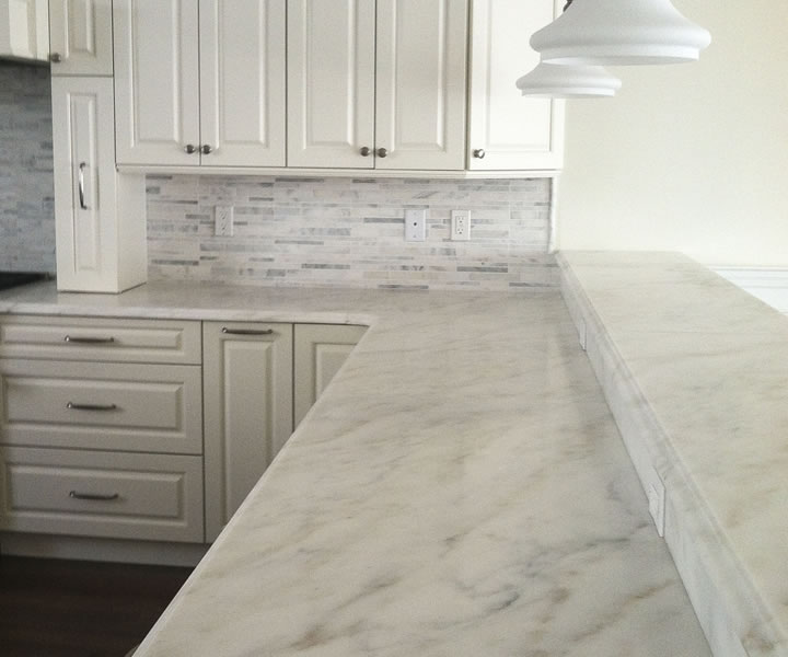 Countertops for How to hone marble